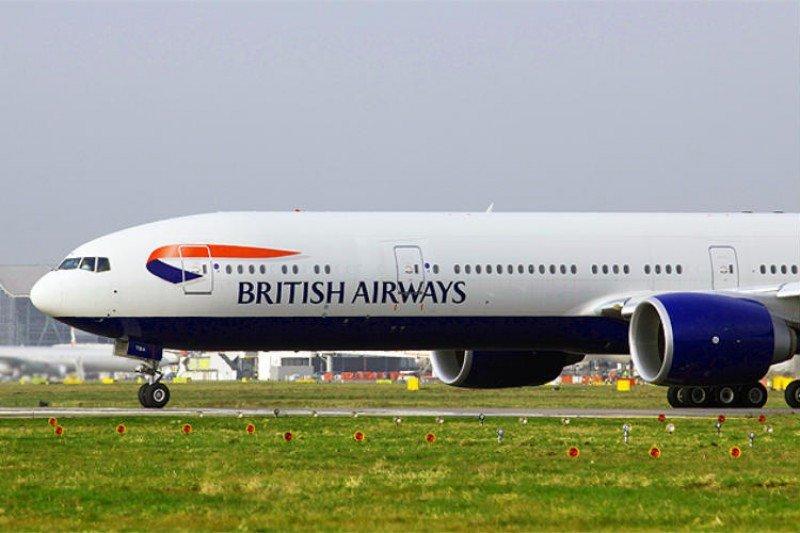 Boeing 777 de British Airways.