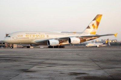 Etihad Airways deja de volar a Brasil en marzo