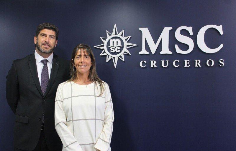 Karina Morillas acompaña desde ahora a Javier Massignani al frente de la oficina de MSC en Buenos Aires.