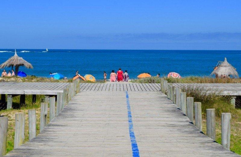 Acceso a la playa Bahía Grande, La Paloma. Fotos: TurismoRocha.gub.uy