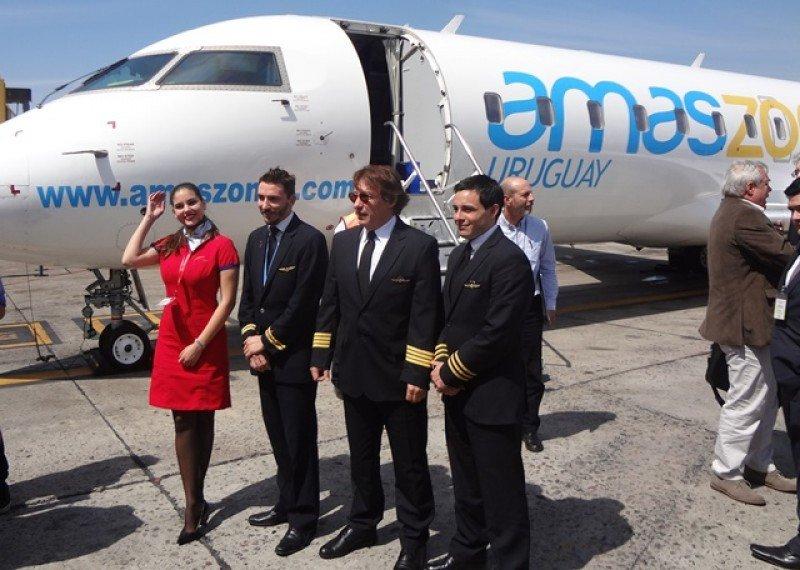 Amaszonas Uruguay volará dos veces por semana entre Asunción y Punta del Este
