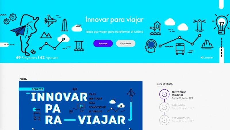 Argentina lanza desafío de ideas para potenciar el turismo