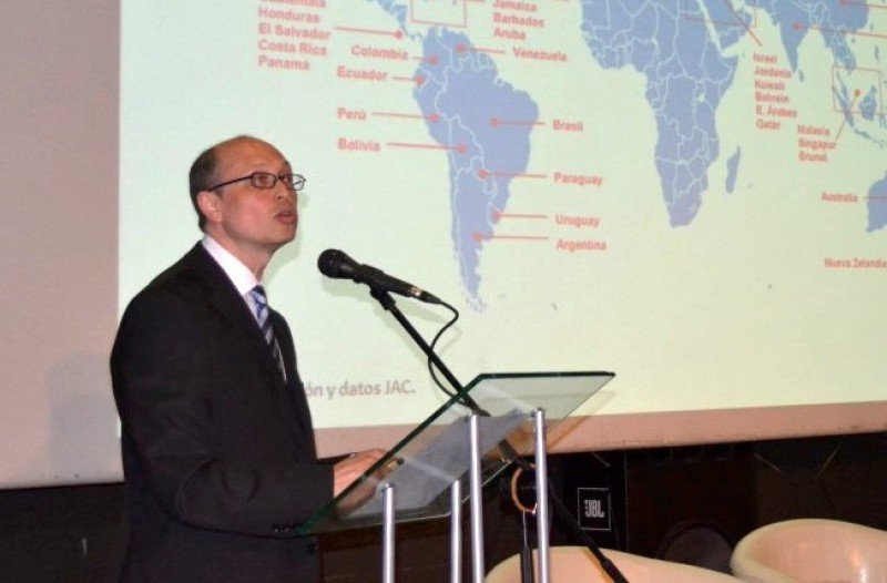 Jaime Binder, secretario general de la Junta Aeronáutica Civil.