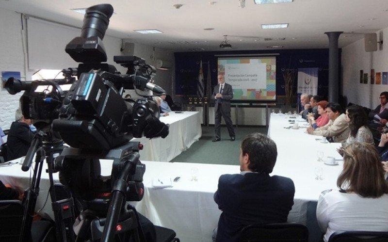 Benjamín Liberoff en la presentación de las estrategias 2016/2017.
