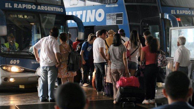 Más de un millón de personas recorren Argentina durante fin de semana largo