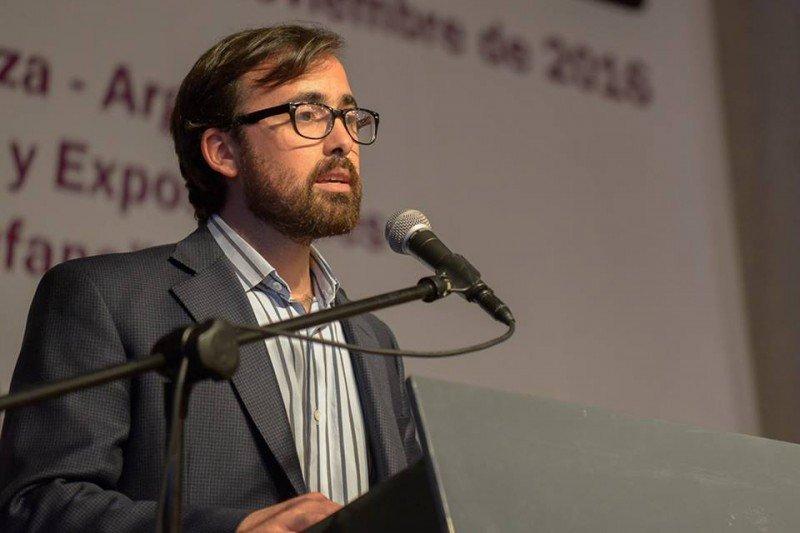 Gonzalo Merino, coordinador de turismo en Bodegas de Argentina (Foto: Ente Mendoza Turismo)