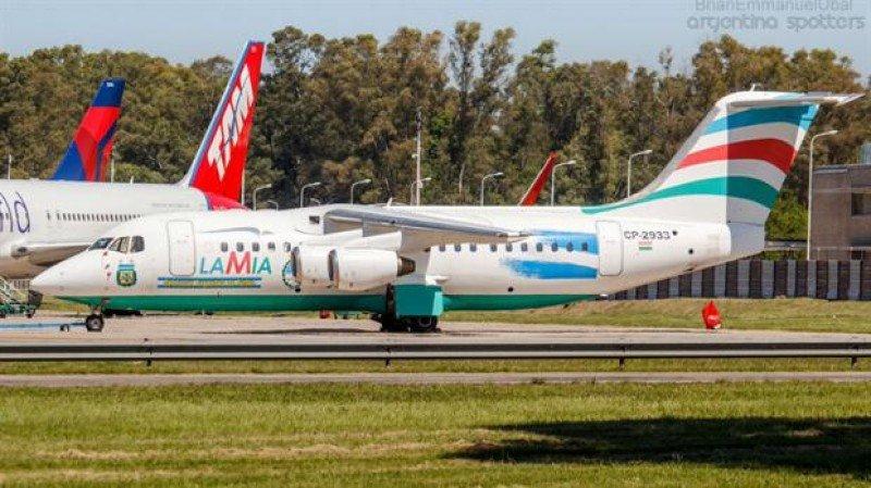 En el mismo avión que se estrelló, la selección de Argentina había viajado desde Brasil a la provincia de San Juan en la última fecha de las Clasificatorias sudamericanas. (Foto: Brian Emmanuel Ubal. Spotters Argentina)