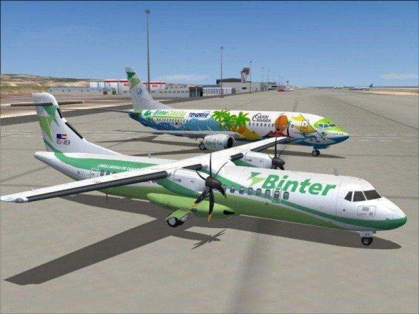 binter cv  primera aerol u00ednea espa u00f1ola que opera vuelos