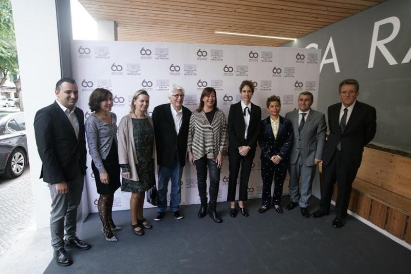 Foto de familia de Iberostar con las autoridades antes de comenzar su convención global.