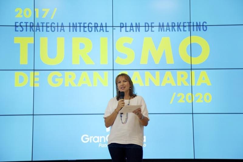 Inés Jiménez, consejera de Turismo del Cabildo de Gran Canaria.
