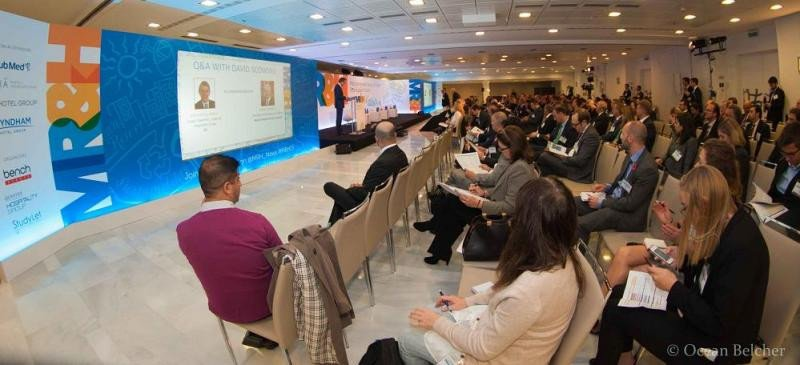 Imagen de las jornadas del Mediterranean Resort and Hotel Real Estate Forum celebradas esta semana en Barcelona. Foto: SL04 Hospitality.