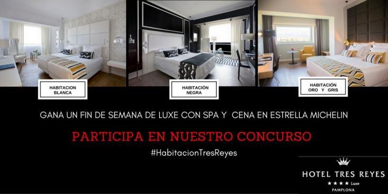 Enunciado del concurso del Hotel Tres Reyes para decidir el nuevo diseño de las habitaciones.