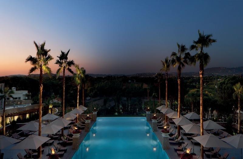 Portugal elevó su RevPar un 16,3%. Foto: Conrad Hotel en Algarve.
