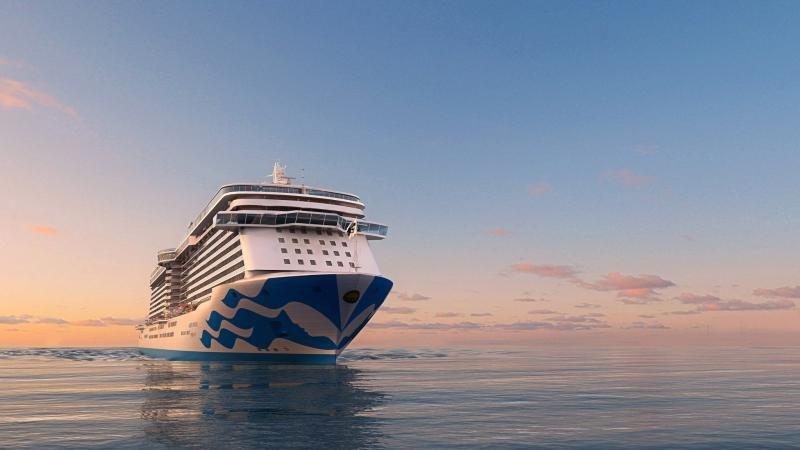 Princess Cruises inicia la construcción del cuarto barco de la clase Royal