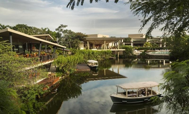 El proyecto Mayakoba se sitúa en el segmento de lujo en México.