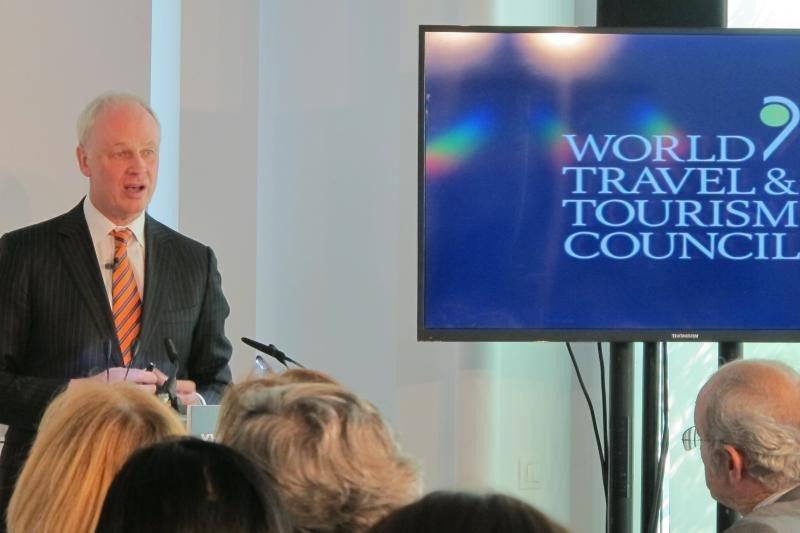 El presidente y consejero delegado del WTTC, David Scowsill.