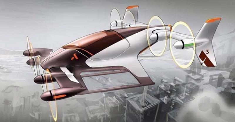 Vahana, el taxi volador de Airbus.