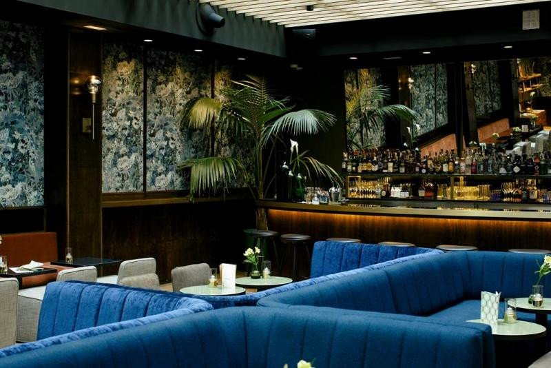 La coctelería del hotel Tótem es el contrapunto maldito al luminoso restaurante que simboliza lo hermoso. Foto: Pablo Gómez Ogando.