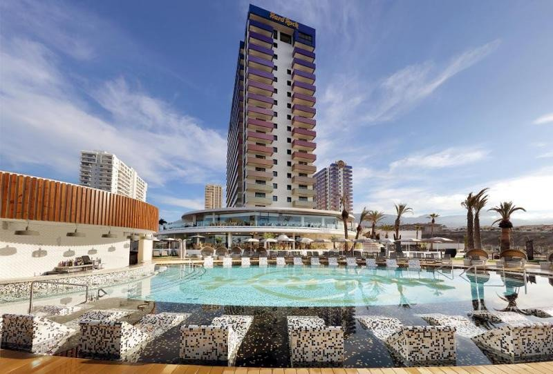 Imagen de una de las torres del hotel, inaugurado oficialmente el pasado fin de semana.