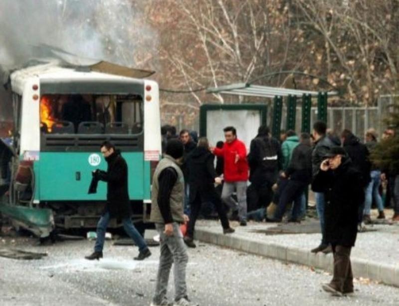 Atentando en la ciudada turca de Kayseri.