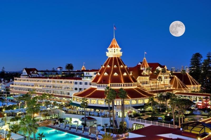 Hotel del Coronado, en San Diego (Estados Unidos).