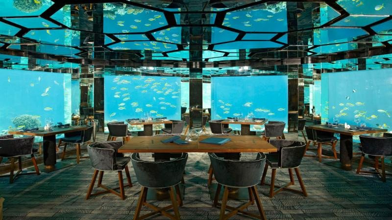 Anantara Kihavah Villa Resort, en Maldivas.