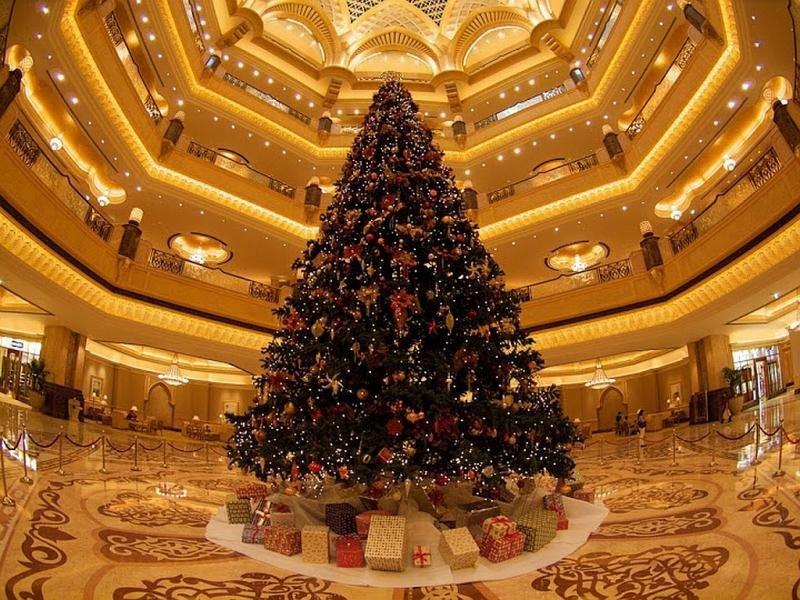 Emirates Palace Hotel, en Abu Dhabi.