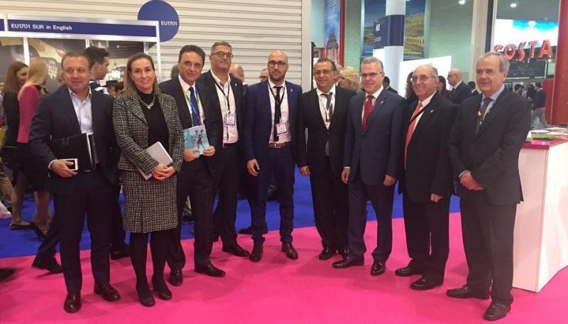 Los alcaldes de los cinco destinos celebraron su primera reunión en la WTM.