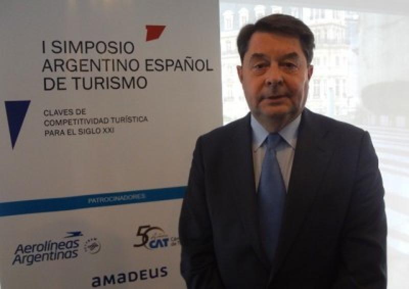 Carlos Vogeler señaló que Argentina y España tienen mucho en común y que ambos países buscan colocar al turismo en lo más alto de la agenda política.