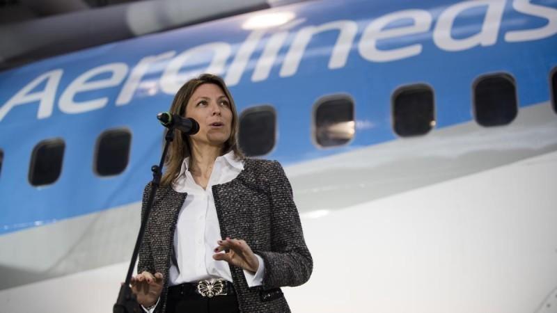 Isela Costantini renuncia a la presidencia de Aerolíneas Argentinas
