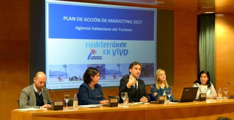 Presentación de la nueva estrategia de marketing.