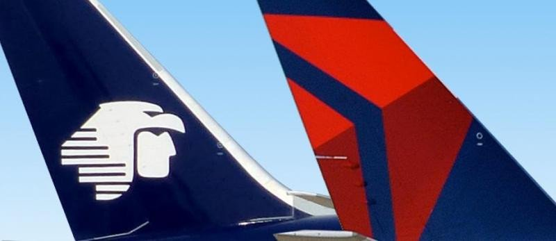 """Aeroméxico y Delta logran inmunidad para su """"alianza histórica"""""""