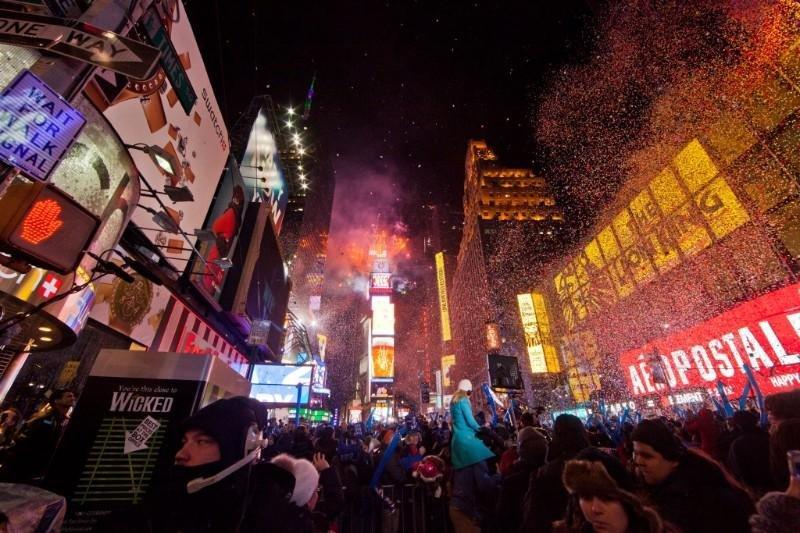 Nueva York es el destino favorito para disfrutar de la última noche del año.