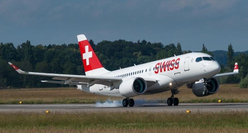 Swiss estrena en rutas con España su CS100, el 'jet silencioso'