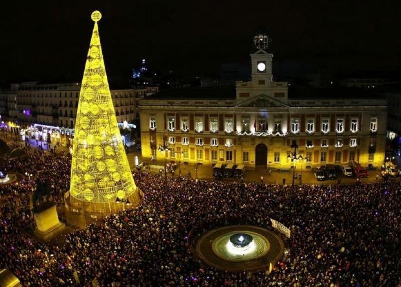La noche de Fin de Año, como la que se celebra en la Puerta de Sol de Madrid, es uno de los momentos más críticos para la seguridad.