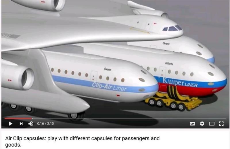 El avión se puede confirgirar en cada vuelo.