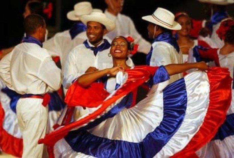 Merengue dominicano.