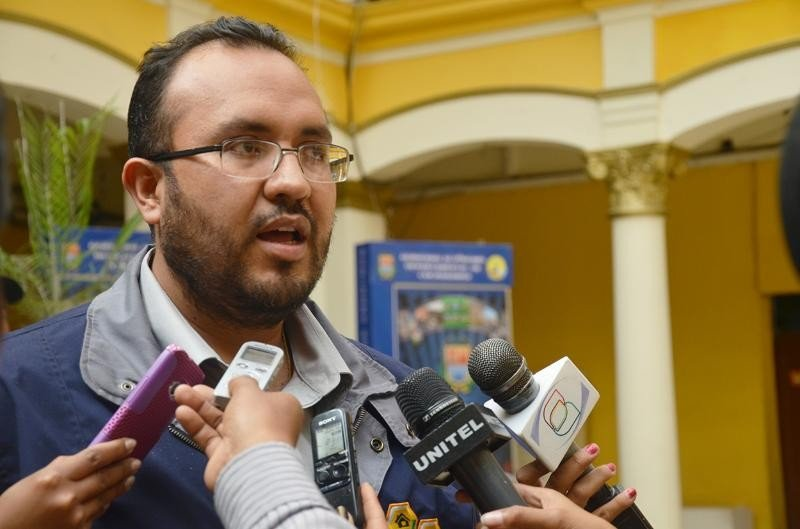 Milton Claros, ministro de Obras Públicas de Bolivia.