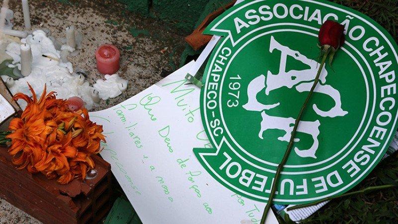 El Chapecoense recibió homenajes en todo el mundo.