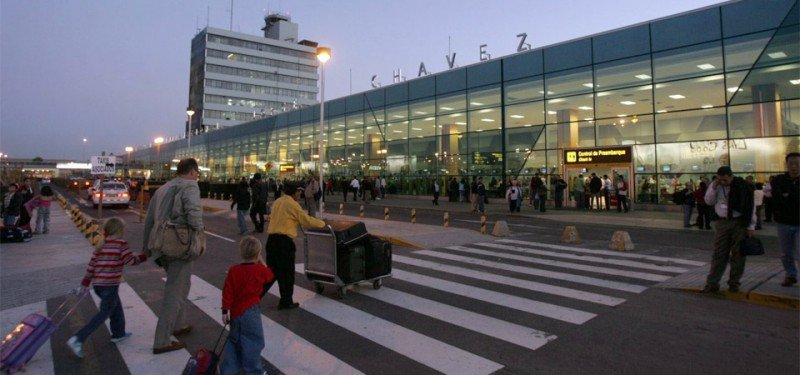 Aeropuerto Chávez, de Lima.