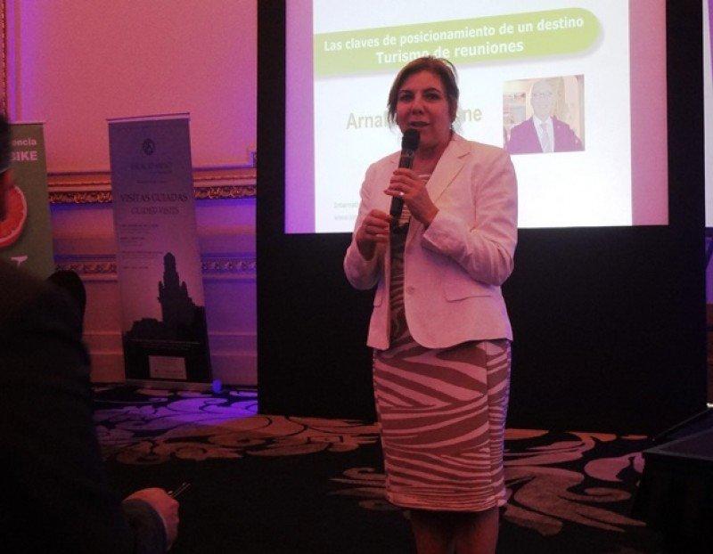 Adriana Careaga, presidenta de Montevideo Bureau.