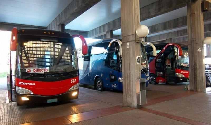 Terminal de ómnibus de Punta del Este.
