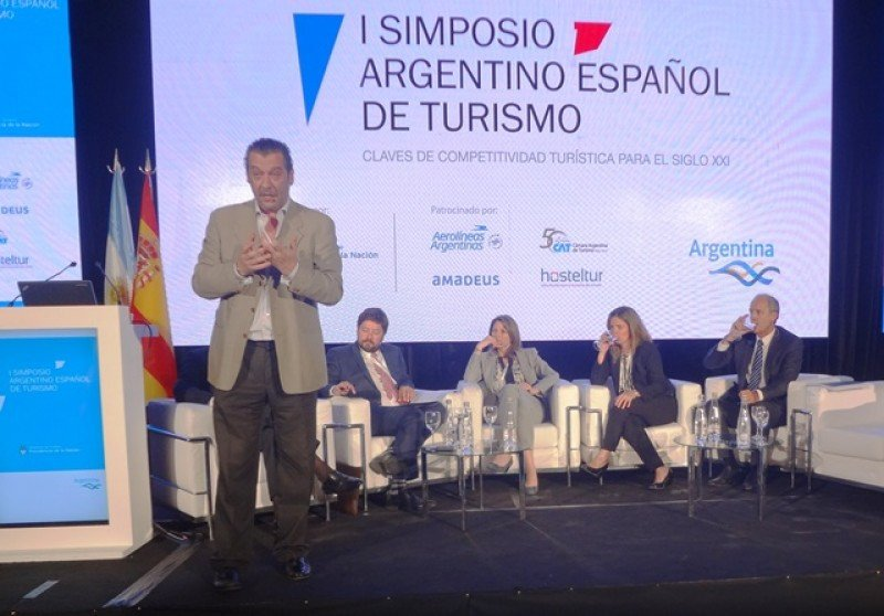Carlos Belda, gerente general de Air Europa en Argentina.