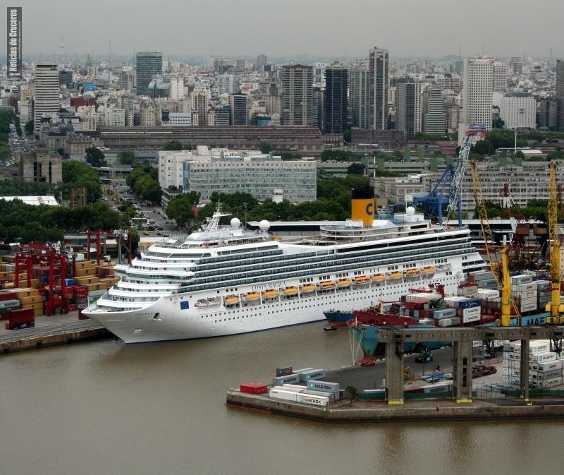 """Argentina: arribo de cruceros  """"volverá a la normalidad"""" en 2018-19"""