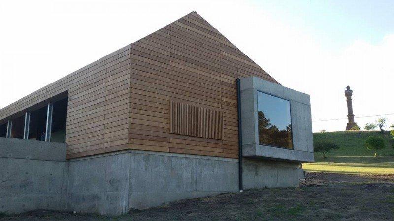 Nuevo Centro de Visitantes en la Meseta de Artigas.
