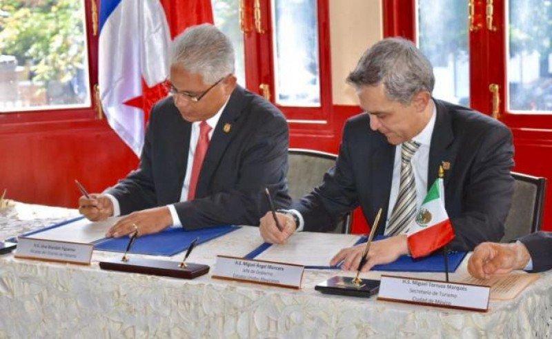Los representantes de ambos gobiernos firmaron el acuerdo en Panamá.