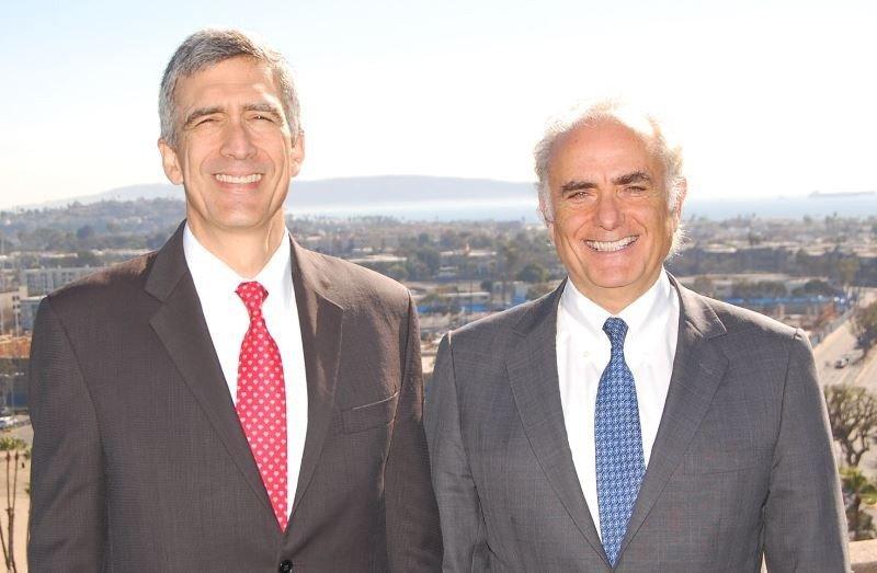 Pedro Heilbron y Calin Rovinescu. Foto: Star Alliance.