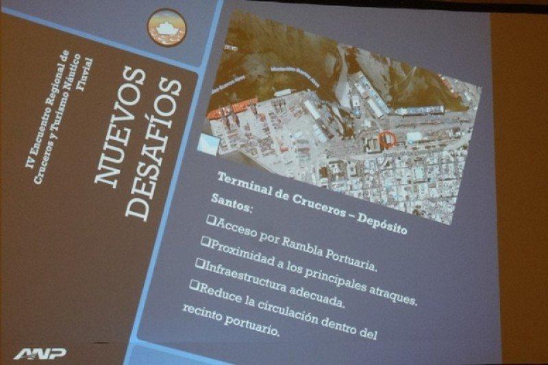 Proyecto de la ANP para la futura terminal de cruceristas en el puerto de Montevideo.