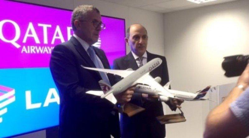 Qatar Airways concreta la adquisición del 10% de LATAM Airlines por US$ 600 millones