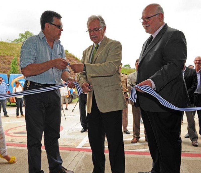 Uruguay y Brasil inauguraron en Rivera el primer paso de frontera integrado